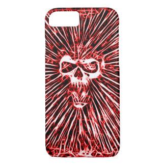 Skully Skull Demon Skull Fractal Art iPhone 7 Case