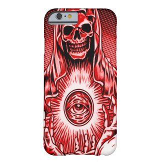 Skully Skull Evil Red Eye Barely There iPhone 6 Case