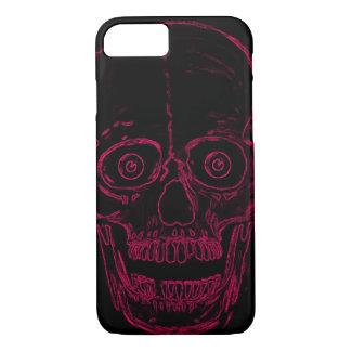 Skully Skull Pink Demon Skull iPhone 7 Case