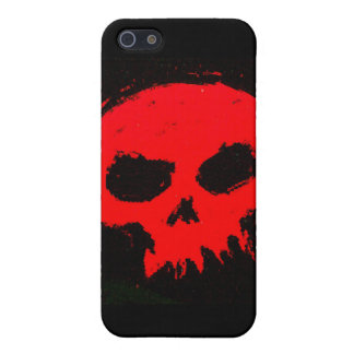 Skully Skull Red Death iPhone 5/5S Cover