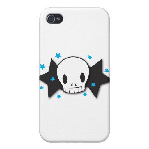 skully starz iPhone 4 cases