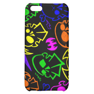 Skullz (black n bold) cover for iPhone 5C