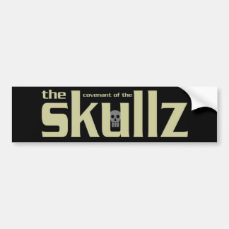 Skullz Bumper Skicker Bumper Sticker