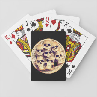 Skullz Playing Cards