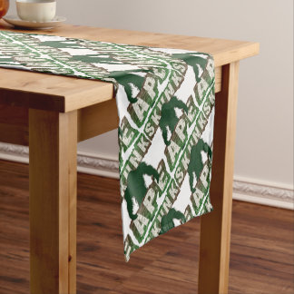 SKUNK APE SHORT TABLE RUNNER