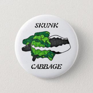 Skunk Cabbage Art Button