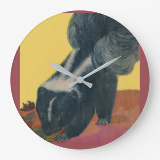 skunk large clock