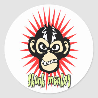 Skunk Monkey Sticker