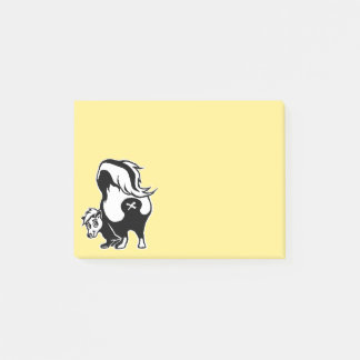 Skunk Post-it Notes