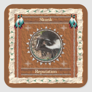 Skunk  -Reputation- Stickers - 20 per sheet