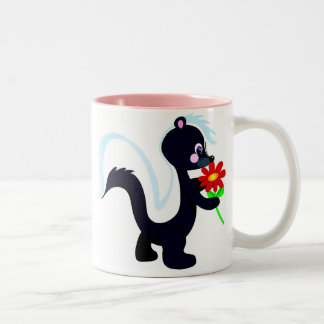 Skunk Two-Tone Coffee Mug