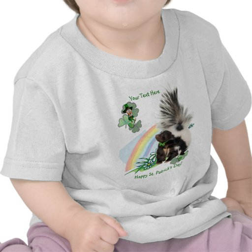 "Skunks, Leprechauns and the ""Luck Of The Irish"" Shirt"