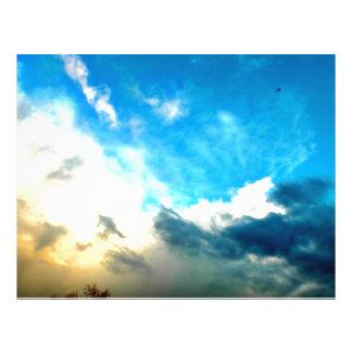 Sky 21.5 Cm X 28 Cm Flyer