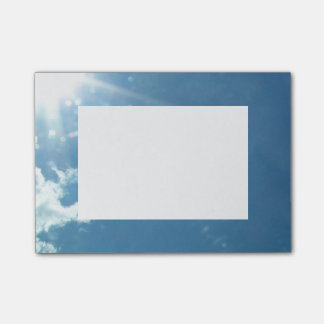 Sky 5992 - Sun and Clouds Post-it Notes