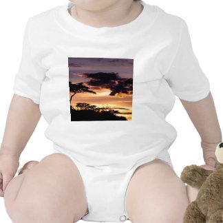 Sky A Beginning Tanzania Africa Baby Bodysuit