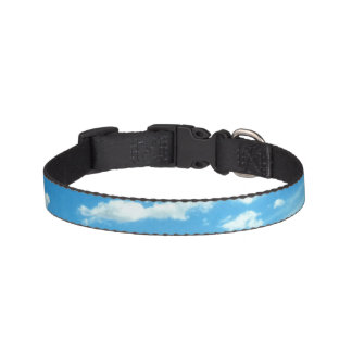 Sky and Clouds Dog Collar