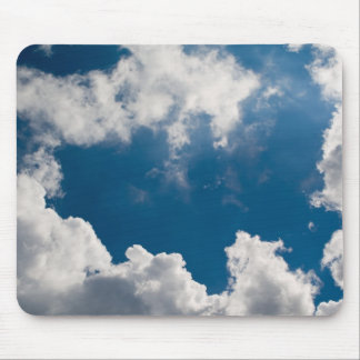 sky and clouds mouse pads