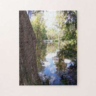 Sky and water marsh scene in Charleston, SC Jigsaw Puzzles
