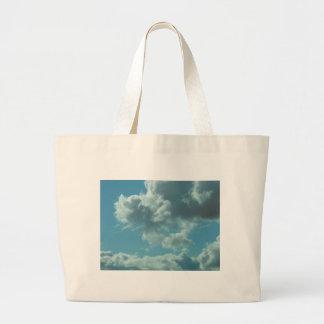 Sky and Water Reflections Jumbo Tote Bag
