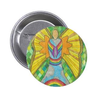Sky Angel jpg Pinback Buttons