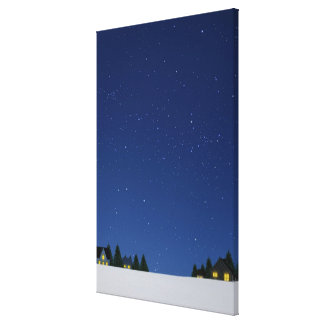 Sky at Night 2 Canvas Print