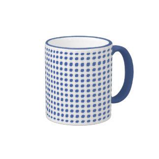Sky Blue 3 Side Boxes Ringer Mug