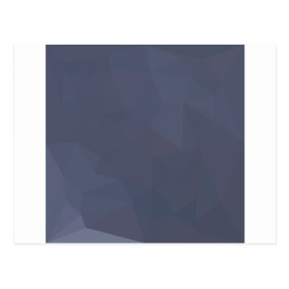 Sky Blue Abstract Low Polygon Background Postcard