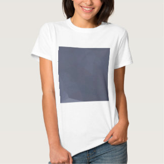 Sky Blue Abstract Low Polygon Background Tshirt