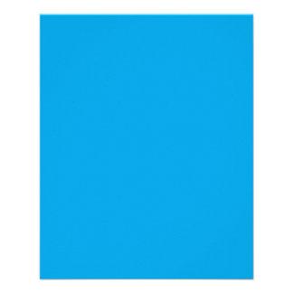 Sky Blue Color Background Decor 11.5 Cm X 14 Cm Flyer