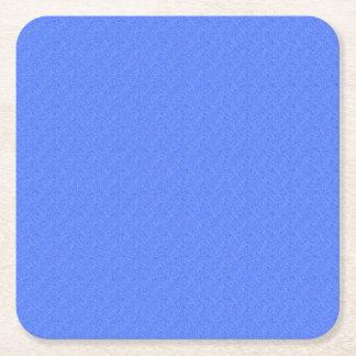 Sky Blue Denim Look Square Paper Coaster