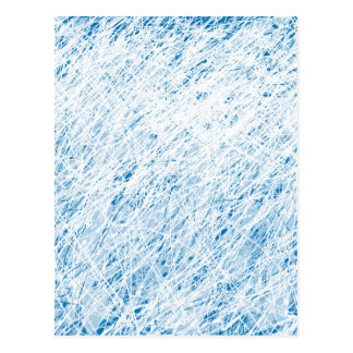 Sky blue design postcard