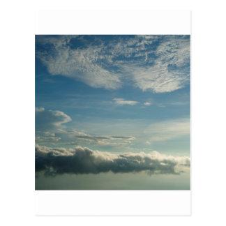 Sky Blue Dusk Post Cards