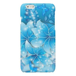 Sky Blue Flowers vector art