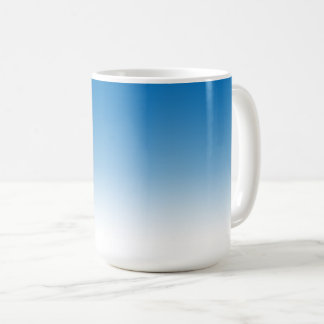 Sky Blue Gradient Color Ombre Mug