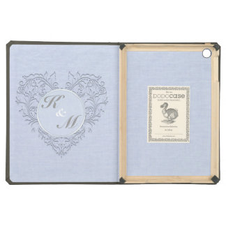 Sky Blue HeartyChic Case For iPad Air