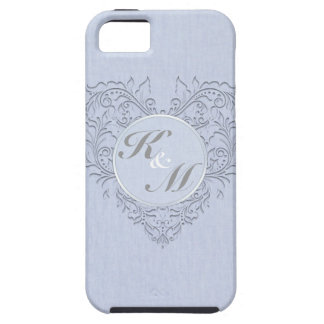 Sky Blue HeartyChic iPhone 5 Cases