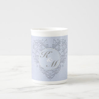 Sky Blue HeartyChic Tea Cup