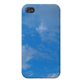 Sky Blue iPhone 4 Cover