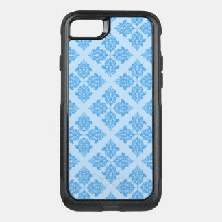 Sky Blue Moroccan Damask OtterBox Commuter iPhone 8/7 Case