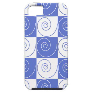 Sky Blue Mouse Tail Twists Case For The iPhone 5