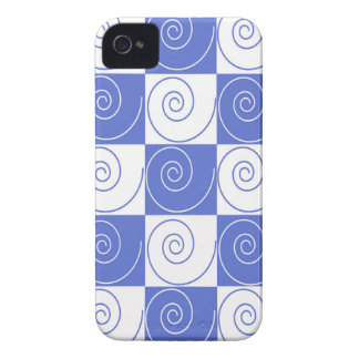 Sky Blue Mouse Tail Twists iPhone 4 Covers