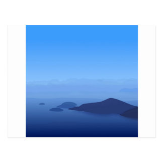 Sky Blue Postcard