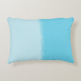 Sky Blue Shaded Decorative Cushion