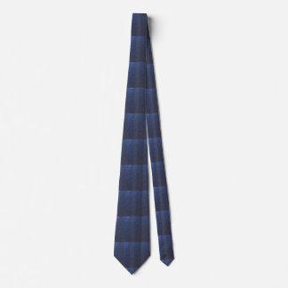 Sky Blue Star Splashed Tie