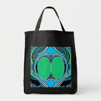 Sky blue superfly design bags
