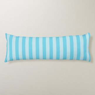 Sky Blue Zen Stripes Body Cushion
