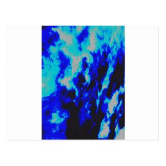 Sky Blues Postcard