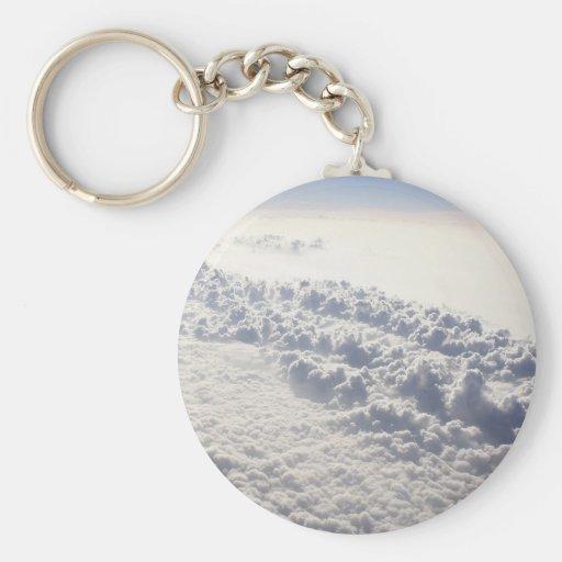 Sky Bubble Clouds Key Chain