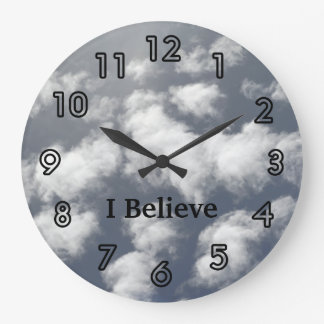 Sky Clouds Church Clocks