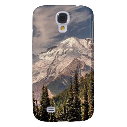 Sky Cold Peaceful Mountians HTC Vivid Cover